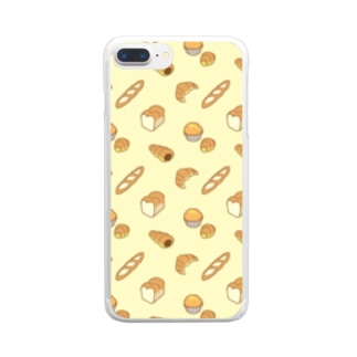 bread bread ブレッドブレッド Clear smartphone cases