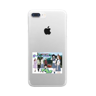 OVER REV! &OVER RIDE! Clear smartphone cases