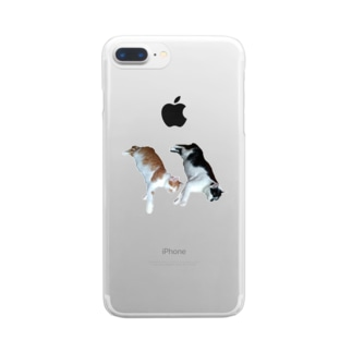 futago neko Clear smartphone cases