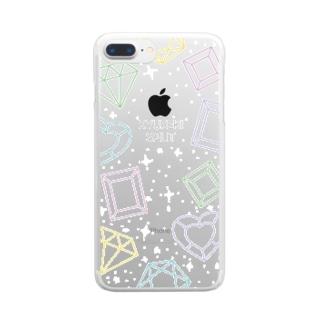 きゅうすぴふぉん2 Clear smartphone cases