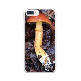 ジコボウ_ハナイグチ_20181015_0121 Clear smartphone cases