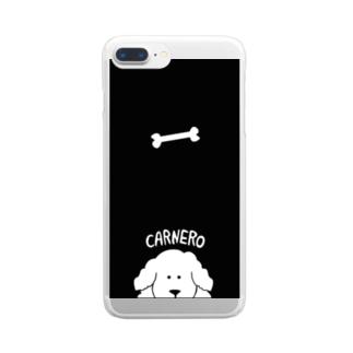 カルネロフォン Clear smartphone cases