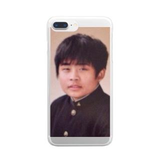 翔太黒歴史 Clear smartphone cases