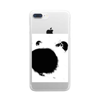 あっぷっぷ Clear smartphone cases
