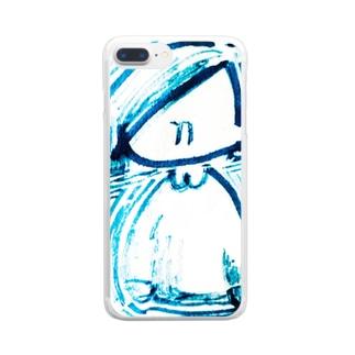 あたいだよ Clear smartphone cases