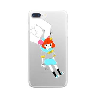 \コラッ!/ Clear smartphone cases