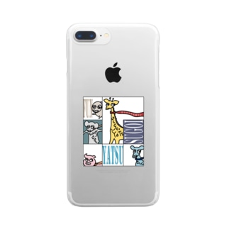 simple-animal37 Clear smartphone cases