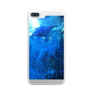Swimming with MANTA  Clear smartphone cases