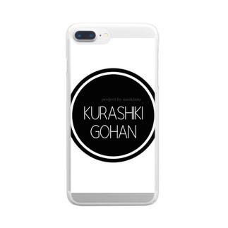 KURASHIKI  GOHAN Clear smartphone cases