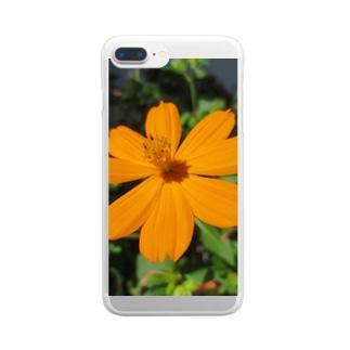 オレンジの勧め Clear smartphone cases