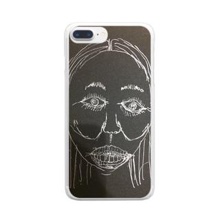 僕奥 Clear smartphone cases