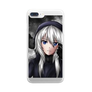 ミカエル Clear smartphone cases