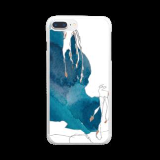 砂まみれのくらげ Clear smartphone cases