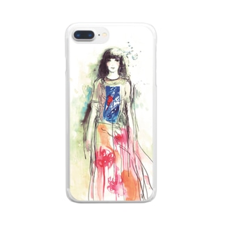 kanae Clear smartphone cases