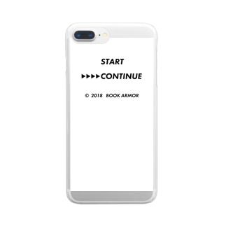 CONTINUE Clear smartphone cases
