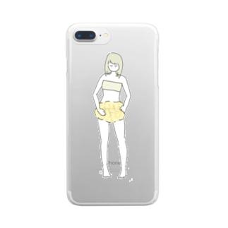 メロンパンつ Clear smartphone cases