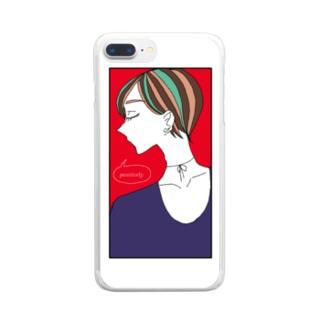 中性 Clear smartphone cases