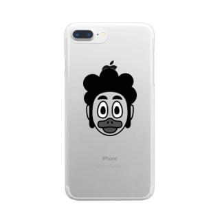アヒル口 Clear smartphone cases