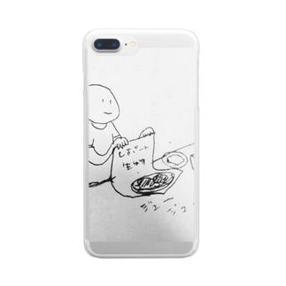 レポート生物 ジュージュー Clear smartphone cases