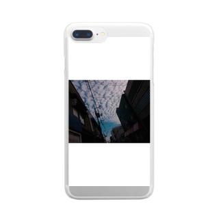 空 Clear smartphone cases