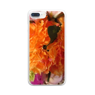 香しき香りNo.27 Clear smartphone cases