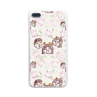 tsujibayashi1013 Clear smartphone cases