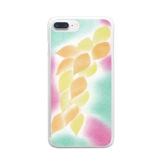 インスピレーションNo.35 Clear smartphone cases