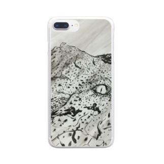 ひかりにふれる Clear smartphone cases