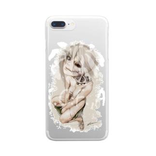 Cadaveria on a Toilet クリアスマートフォンケース