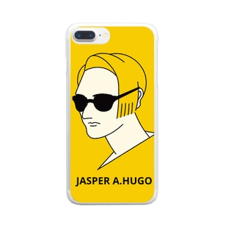 THE SUNGLASSES Clear smartphone cases