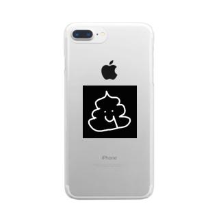 血便くん Clear smartphone cases