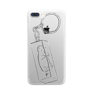 oyasmurのpure Clear smartphone cases