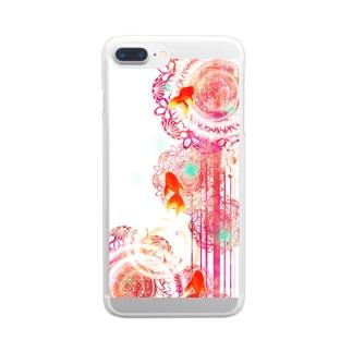 夏空金魚 Clear Smartphone Case