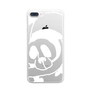 WanWanPandaの魚パンダ Clear Smartphone Case
