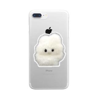 やさしい実写 Clear smartphone cases