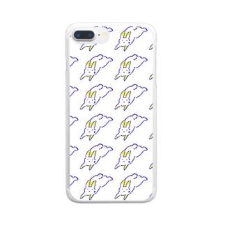 幻想ウサギ2 Clear smartphone cases