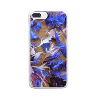 天使の羽 ひらひら  2 Clear smartphone cases
