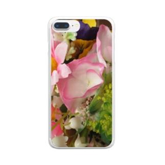 香しき香りNo.31 Clear smartphone cases