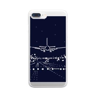 パイロットになる Clear smartphone cases