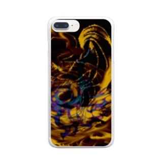 癒えろー☆MARBLE Clear smartphone cases