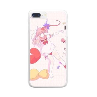 好き好き好き Clear smartphone cases