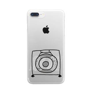 銅鑼 -DORA- Clear smartphone cases