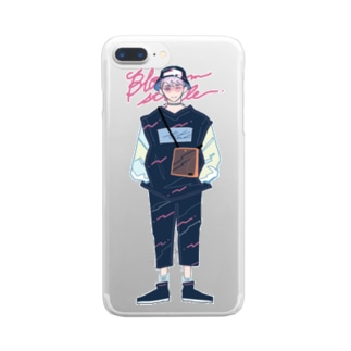 bloom style Clear smartphone cases