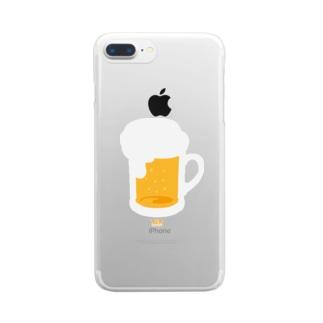 BEER (TGIF) クリアスマートフォンケース