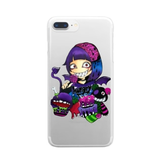 hungry  girl Clear smartphone cases