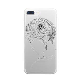 オトナ女子 Clear smartphone cases