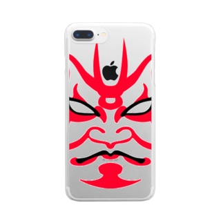 KUMADORI Clear smartphone cases
