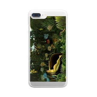 ルソー「夢」 Clear smartphone cases