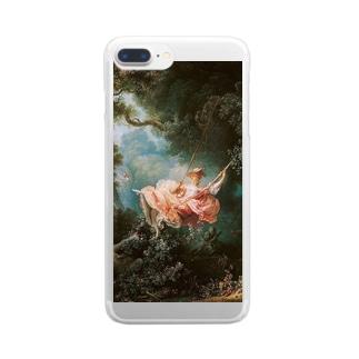フラゴナール「ブランコ」 Clear smartphone cases