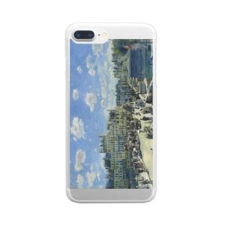 ルノアール「ポン・ヌフ、パリ」 Clear smartphone cases